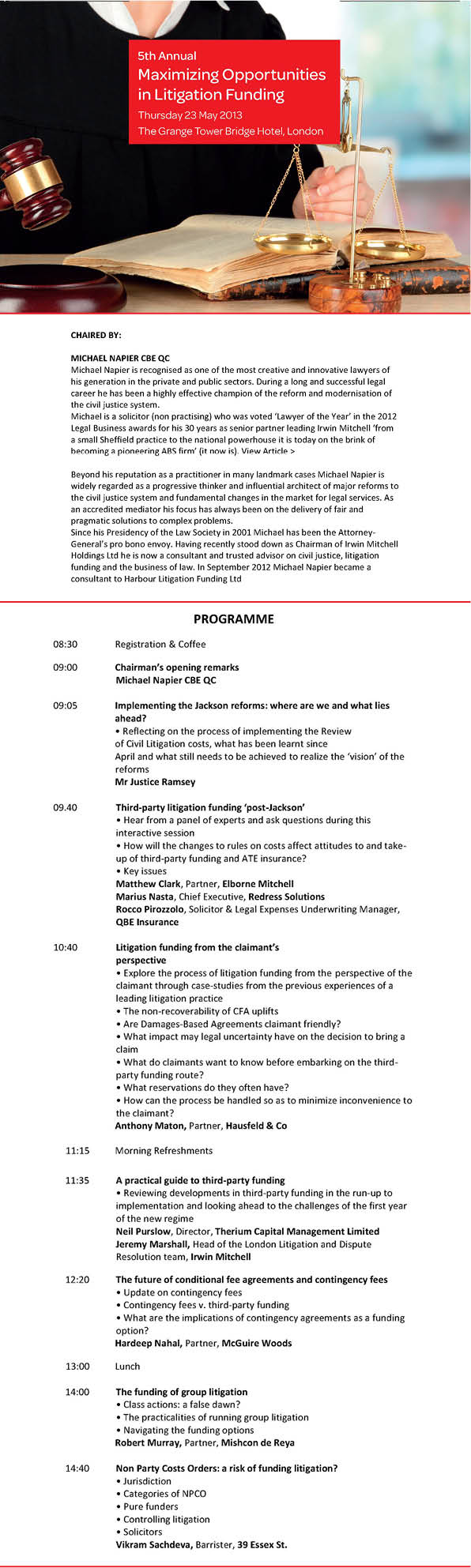 Maximising Opportunities May 2013